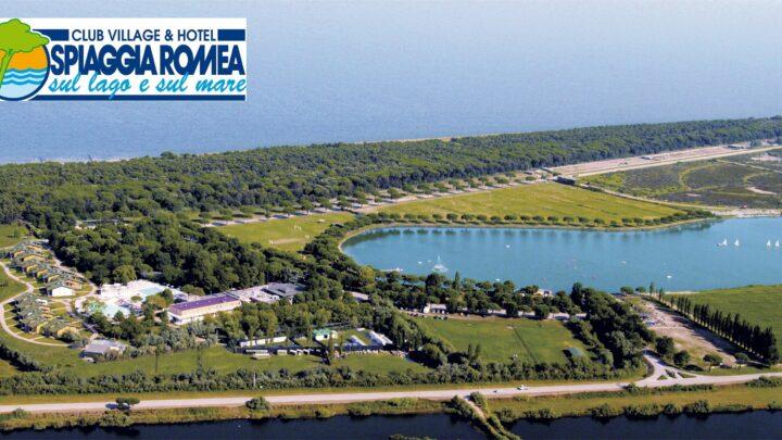 Vista dall'alto di Club Village & Hotel Spiaggia Romea